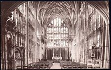 Postcard - Gloucestershire - The Lady Chapel, Gloucester Cathedral