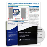 ADOBE ACROBAT PRO DC DELUXE Training Tutorial Course with Quick Reference Guide