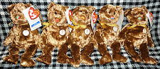 ty WORLD CUP 2002 - SET OF 5 BEANIE BEARS - asst. A