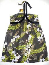 BNWT ROXY LADIES 3 ISLANDS COTTON SUN DRESS (BLACK) SIZE 12 RRP $69.95 LAST ONE