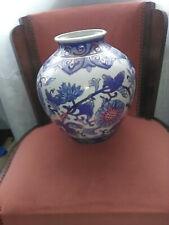 Vase pansu en Céramique de Delft (?)