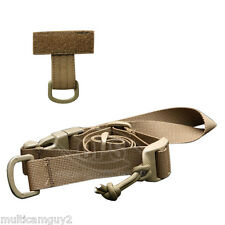 OPS/UR-TACTICAL QUICK RELEASABLE PLATE CARRIER WEAPON SLING-COYOTE BROWN