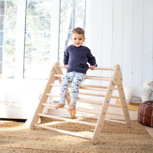 Pikler triangle climbing triangle frame toddler Montessori triangle only size L