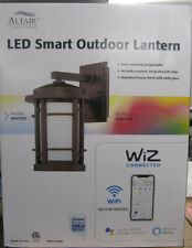 Altair Lighting WiZ Connected LED Outdoor Wall Lantern, AL-2169