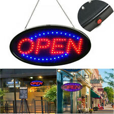 Ultra Bright Led Neon Light Animated Motion Flash Open Business Sign with On/Off