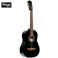 NEW Stagg SCL50 1/2-BK Size Student Nylon Classical Acoustic Guitar - Black