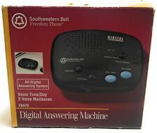 SOUTHWESTERN BELL FA-970 Digital Answering Machine System with 2 Voice Mailboxes
