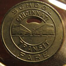 school transit token OH660D Ohio North Olmsted Bus Line