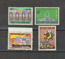 1974 South Vietnam Stamps Soldiers of 7 Nations Sc # 468 - 71 MNH