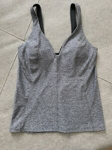 Lululemon Top With Built In Size 8 Space Gray