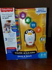 Fisher price Think & Learn Seek & Spell Penguin.