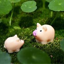 10pcs Miniature Mother Pig Terrarium Figurine Fairy Garden Ornament Craft