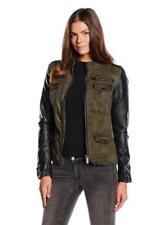 Cappotti e giacche da donna verde a lunghezza lunghezza alla vita taglia M