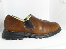 UGG Australia Westside Womens Brown Leather Slip-On Shoes Size 7.5