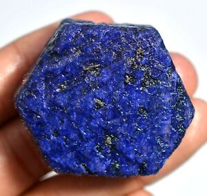 439.30 Ct Natural Nigeria Blue Sapphire Certified Top Quality FACET Rough