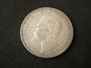Bulgaria, 2 Leva, 1894, silver