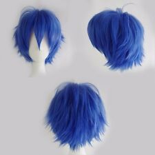 Short Anime Cosplay Wigs Pixie Ghost Hair Costume Full Wigs 130% Denisty US Ship