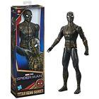 "Marvel Spider-Man Black & Gold Suit Titan Hero Series Action Figure 12"""