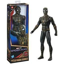Marvel Spider-Man Black & Gold Suit Titan Hero Series Action Figure 12�