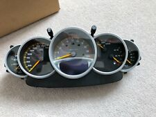 Porsche Carrera GT speedometer instrument cluster