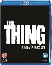 The Thing (1982) / The Thing (2011) Blu-ray Region B New (Kurt Russell)