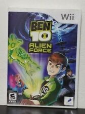 Ben 10: Alien Force for Nintendo Wii FREE SHIPPING in USA