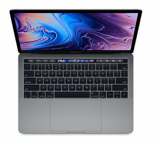 Apple MacBook Pro 13.3 Zoll (256 GB, Intel Core i5 8. Gen. 3.8GHz, 8GB) Space Grau - MR9Q2D/A - mit Touch Bar und Touch ID