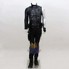 Custom Made Bucky Barnes Captain America 2 Winter Soldier Costume Cosplay