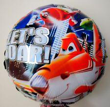 "PLANES Dusty Crophopper round foil balloon 18"" (45cm) birthday party AU SELLER!"