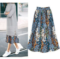 New Women Ladies Casual Party Pleated Skirt AU Size 8 10 12 14 16 18 20 #1089