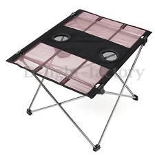 Portable Folding Oxford Fabric Ultralight Foldable Table Camping Fishing BBQ