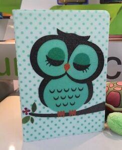 Ipad Mini 1/2/3 Retina Folio Case - Cute Owl Design