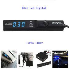 Universal APEXI Auto Turbo Timer For NA & Turbo Black Pen Control Blue LED Unit