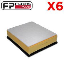 6 x MA1618 Air Filter D-Max & Colorado 3.0L T/Diesel 08 to 12 - WA5095, A1618