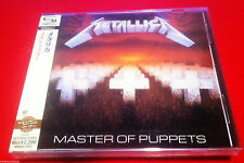 METALLICA - MASTER OF PUPPETS - JAPAN JEWEL CASE SHM - FACTORY SEALED