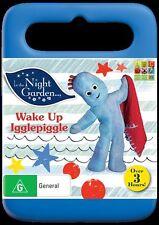 In The Night Garden Wake Up Igglepiggle Region 4 DVD Brand New Sealed