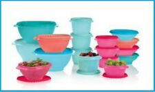 New Tupperware 17 Pc TREASURES OF THE SEA Servalier Set