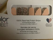 Color Street Trend Spotted 100% Real Nail Polish Strips. Popular Color!