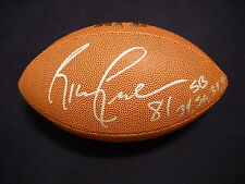 Ricky Proehl Autographed NFL Football Rams Panthers PROOF/ JSA