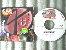 CD-DANCE ATTITUDE-ANATOMIC-BE DIFFERENT-THE CLUB-MAREUIL(CD SINGLE)-1996-2 TRACK