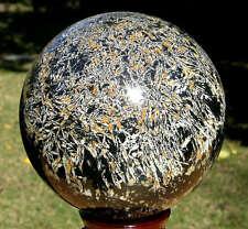 """152mm (5.98"""") Huge Firework Jasper Gemstone Sphere Ball 14 LB #7681"""
