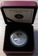 2013 Proof $10 O Canada - Orca (Killer Whale) .9999 silver