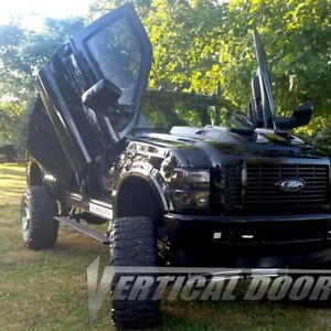 For Ford F-250 Super Duty 99-16 Vertical Doors Front Lambo Door Conversion Kit