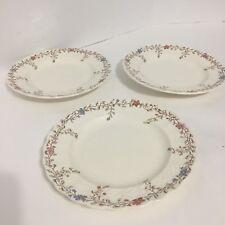 "Set of 3 Vintage Copeland Spode Wicker Dale 6 5/8"" Bread & Butter Plates EUC"