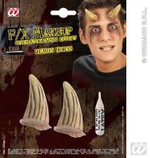 Efecto de película Demonio De Cuernos De Diablo Halloween Vestido De Lujo
