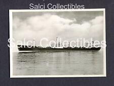 1950's Esso Guildford Turbine Tanker Ship A.G. Weser Bremen Photo 4 x 5.75