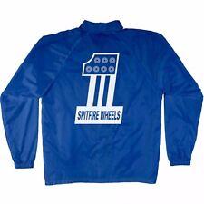 Spitfire Wheels #1 LOGO Coach Windbreaker Jacket ROYAL BLUE XL