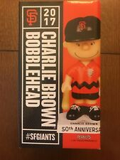 SF Giants 50th Anniversary Peanuts Charlie Brown Bobblehead