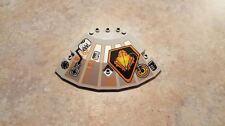 Lego Light Gray Panel 10 x 10 x 2 1/3 Quarter Saucer Top, Part No. 30117