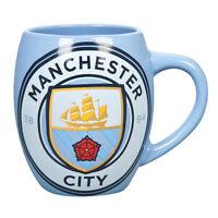 Manchester City Official Football Team Tub Design Ceramic Mug Cup Tea Coffee